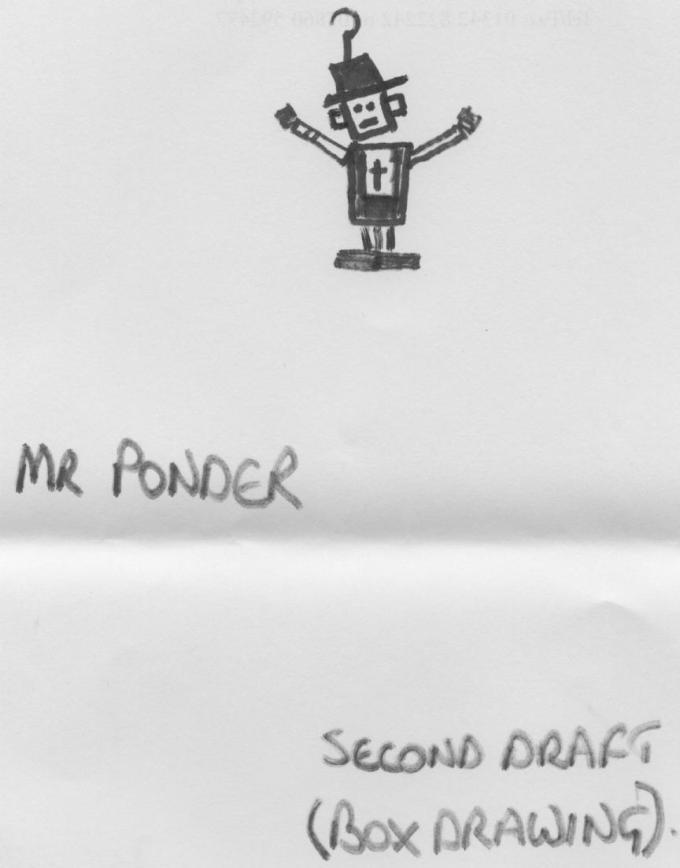 Mr Ponder in Box Form