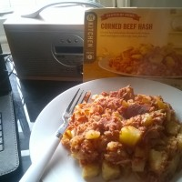 Corned Beef Hash, in a Dash
