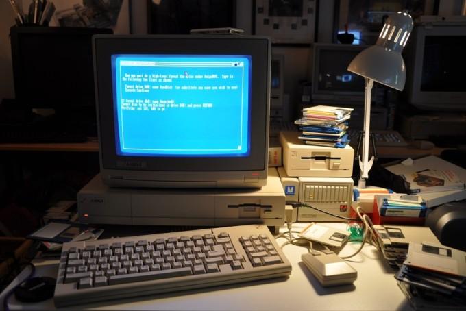1980s Desk
