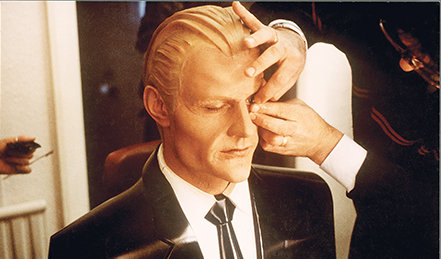 Max Headroom in make-up
