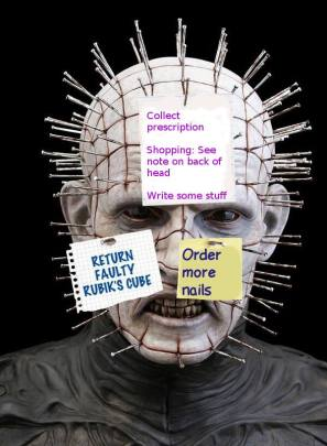 Pinhead Post It