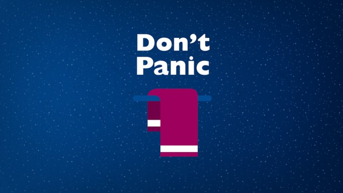 Towel dont panic