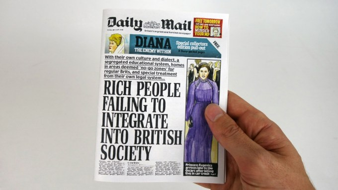 Daily Mail Front