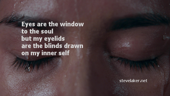 Raining eyes