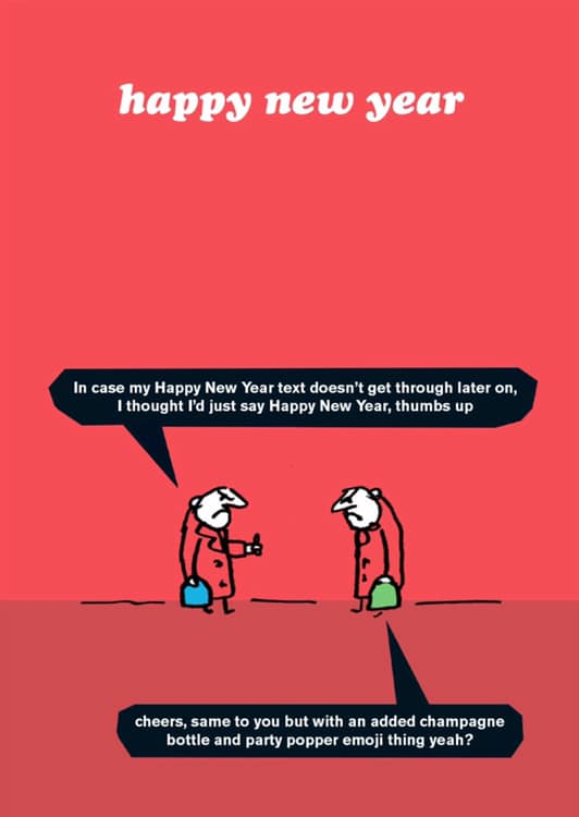 Happy New Year Modern Toss