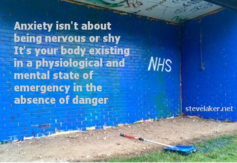 NHS anxiety