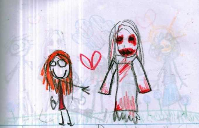 This-Little-Girls-Disturbing-Drawings-of-Her-Imaginary-Friend-Will-Freak-You-Out-FEAT
