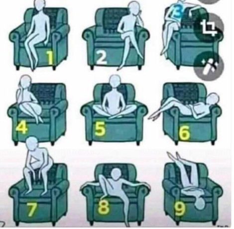 Guest chair positions