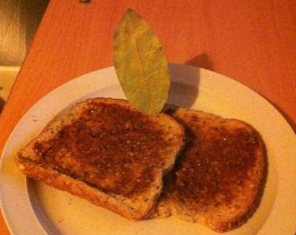 Marmite leaf