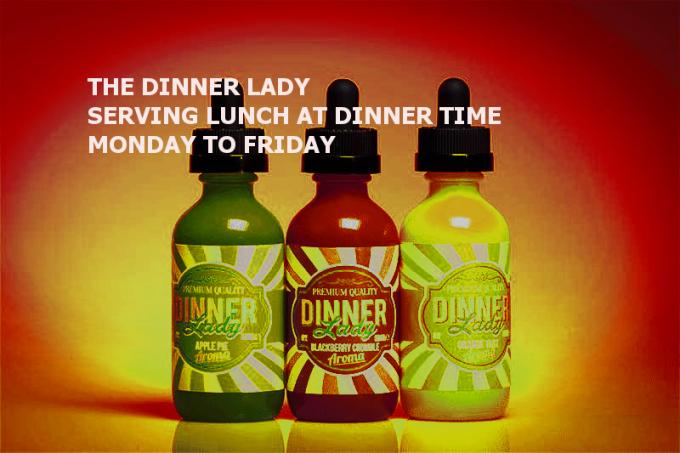 Dinner lady orange