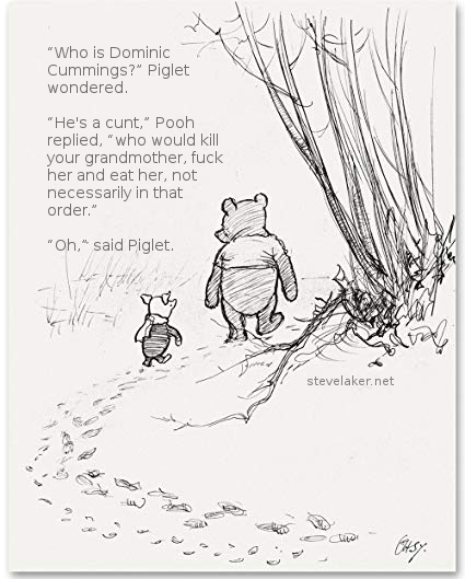 Pooh and Piglet gammons