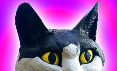Catford Cat psychadelic