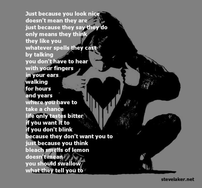 Monkey Black heart bleach2