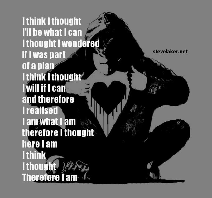Monkey Black heart Think I thought