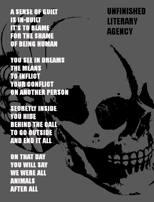 Alien skull Monkey Soliloquy
